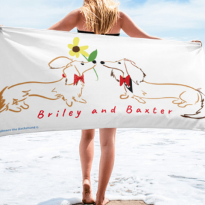 Briley and Baxter Beach Towel